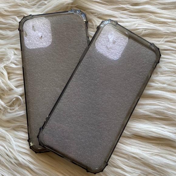 iPhone 11 Pro Black Clear Phone Case